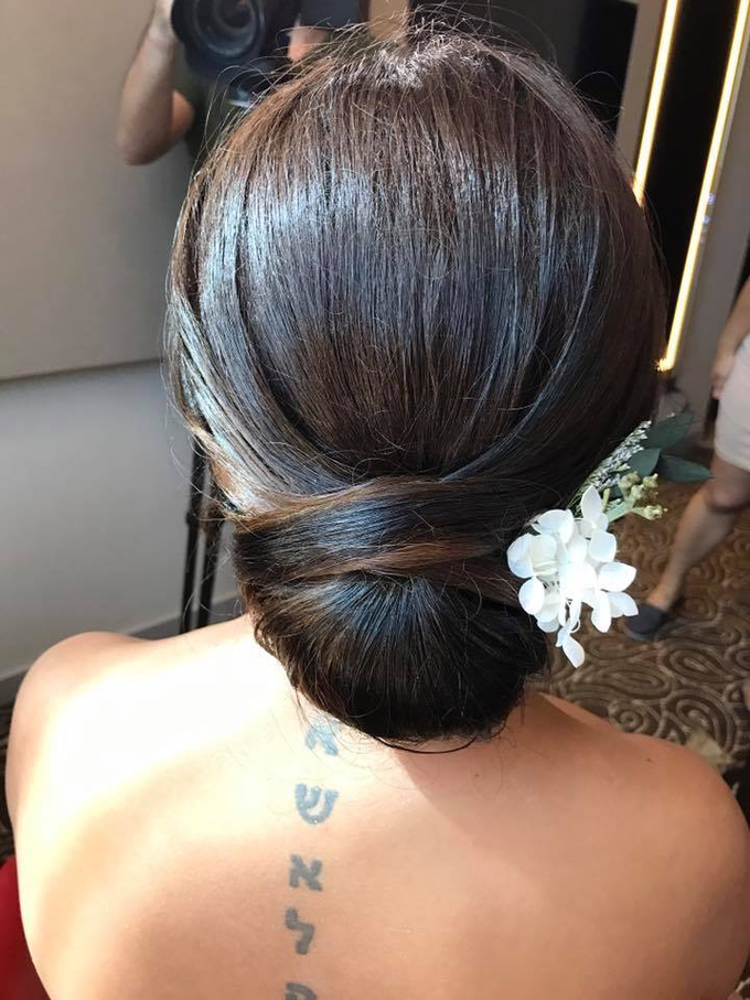 Bride's photos taken by my phone by Queen Makeup Artist - 003