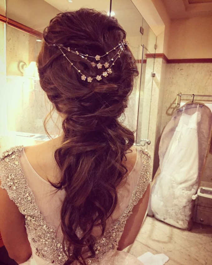Bride's photos taken by my phone by Queen Makeup Artist - 007