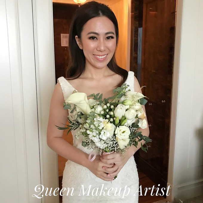 Bride's photos taken by my phone by Queen Makeup Artist - 010