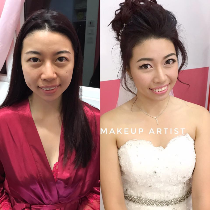 Bride's photos taken by my phone by Queen Makeup Artist - 013