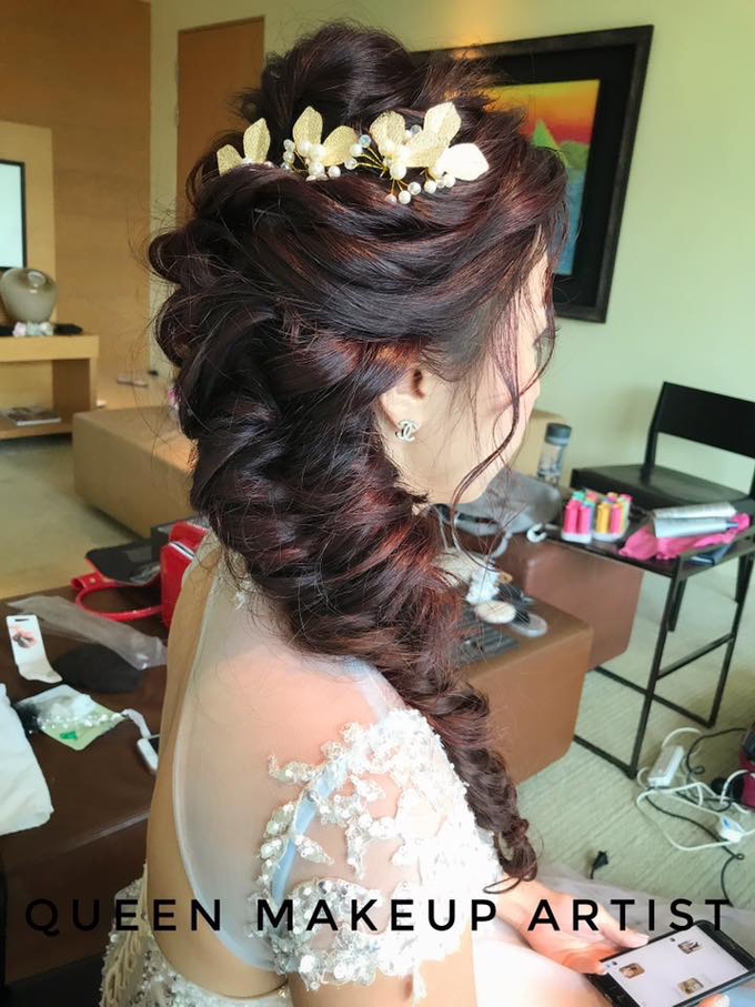 Bride's photos taken by my phone by Queen Makeup Artist - 014