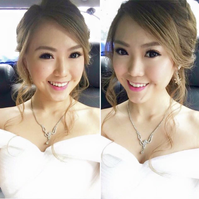 Bride's photos taken by my phone by Queen Makeup Artist - 015