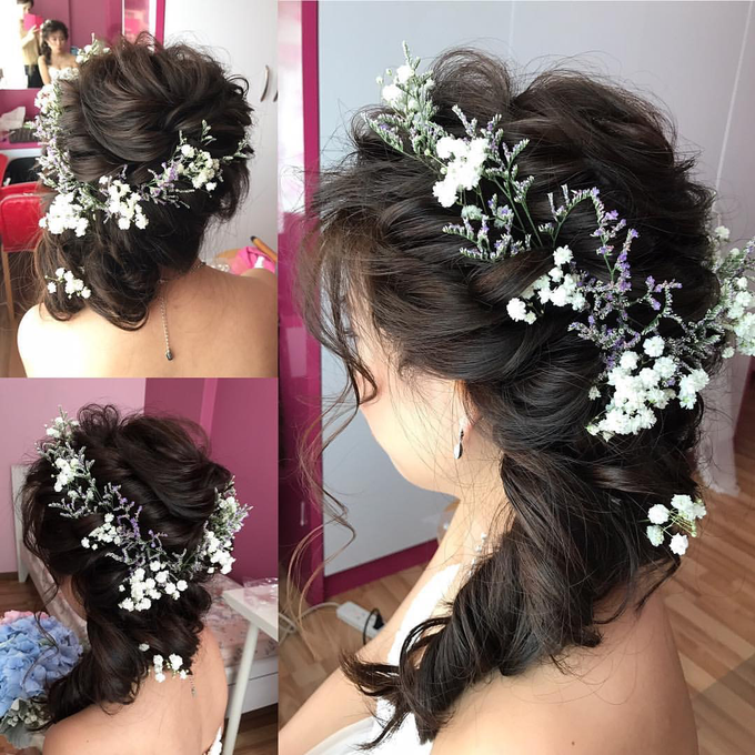 Bride's photos taken by my phone by Queen Makeup Artist - 019