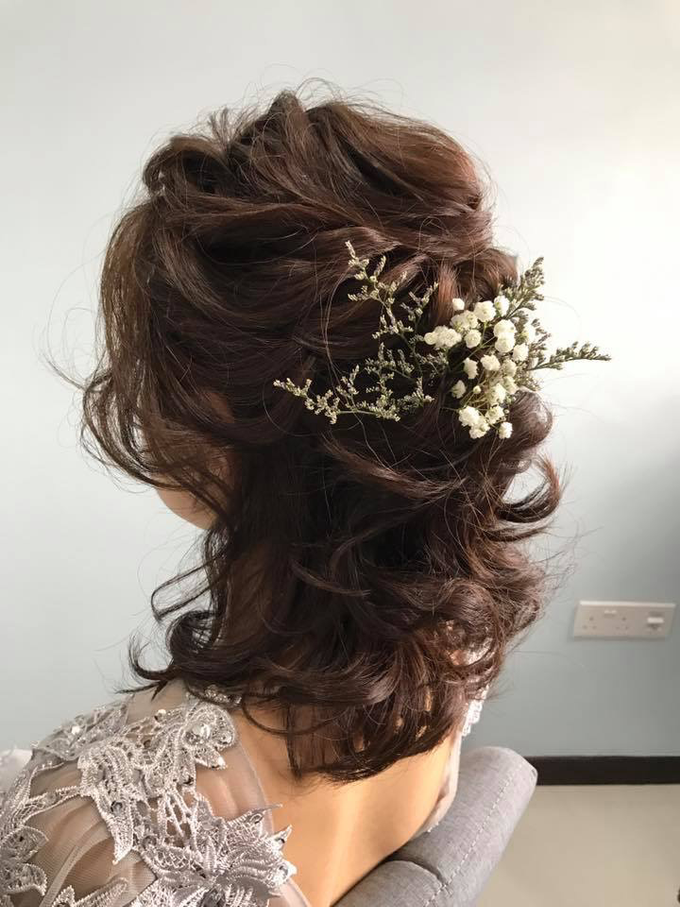 Bride's photos taken by my phone by Queen Makeup Artist - 018