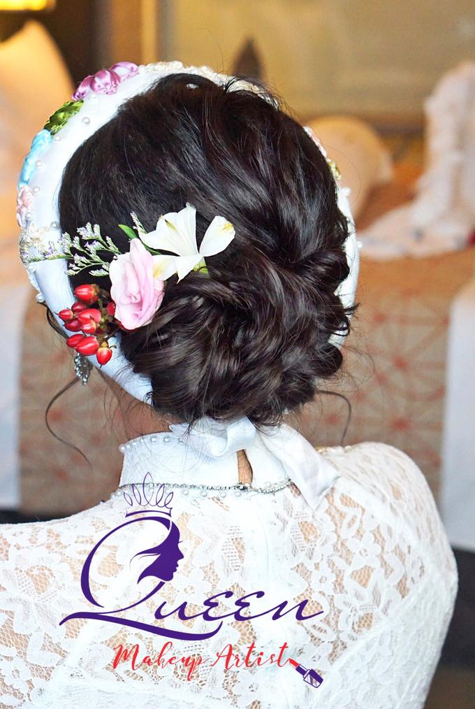 Pretty Vietnamese Bride by Queen Makeup Artist - 002