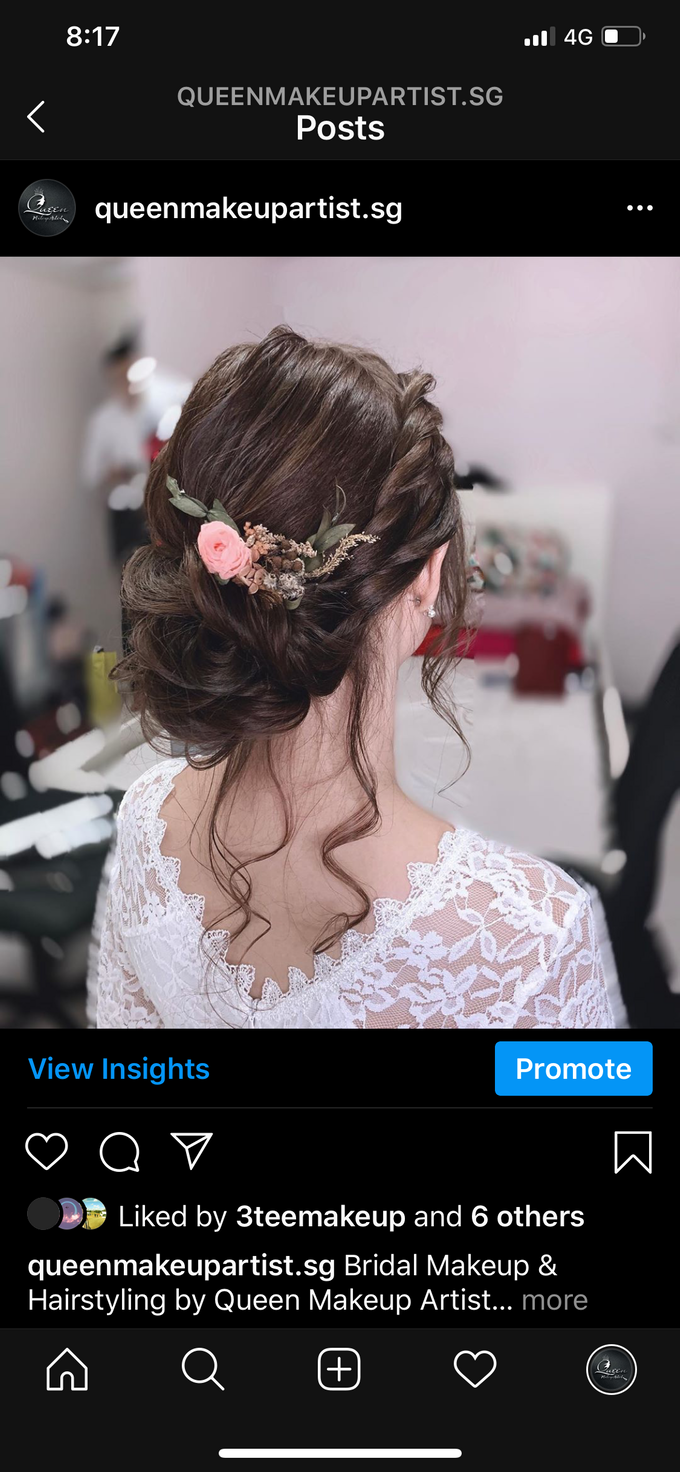Bride's photos taken by my phone by Queen Makeup Artist - 022