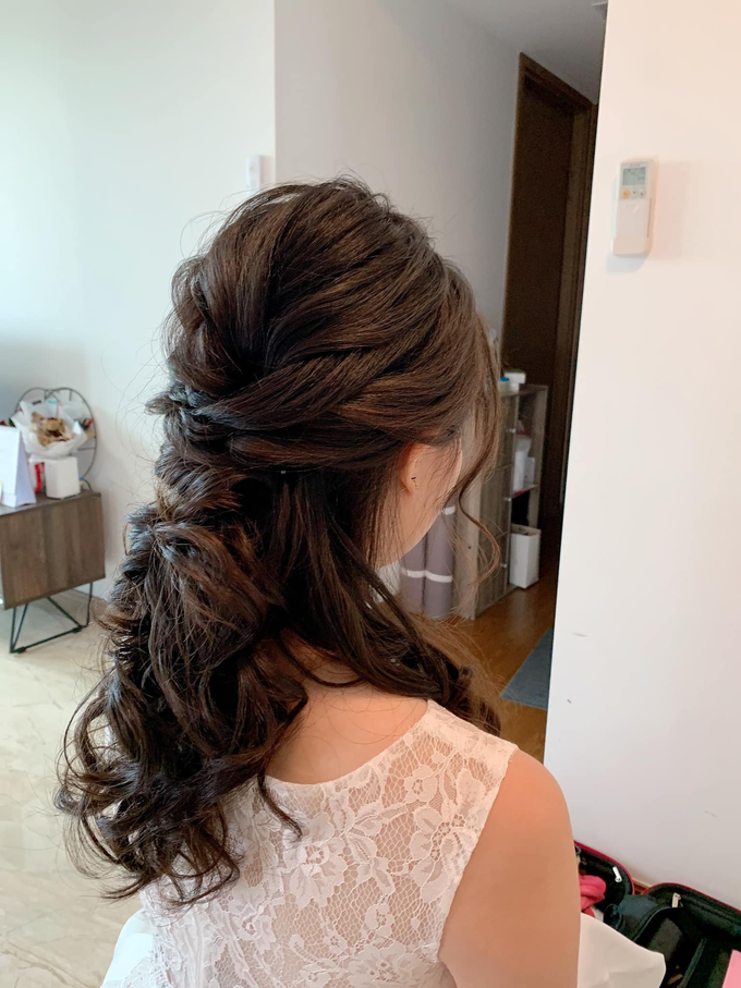Bride's photos taken by my phone by Queen Makeup Artist - 029