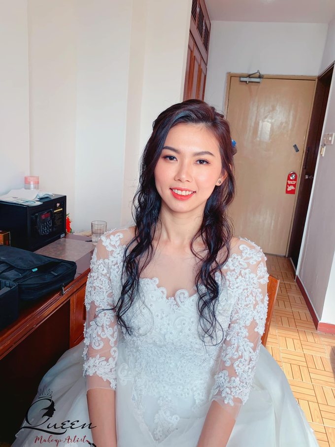 Bride's photos taken by my phone by Queen Makeup Artist - 032