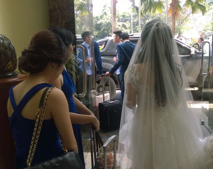 David And Agnes Wedding by hsp indonesia - 005