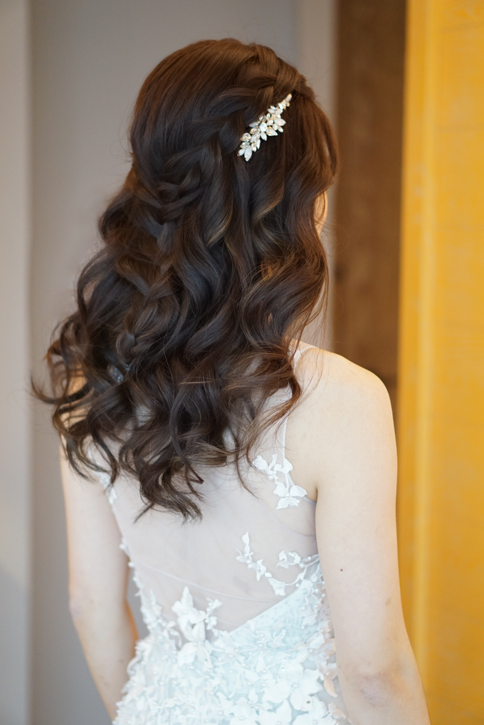 Bridal Makeup&Hair by Queenie Cong Makeover - 001