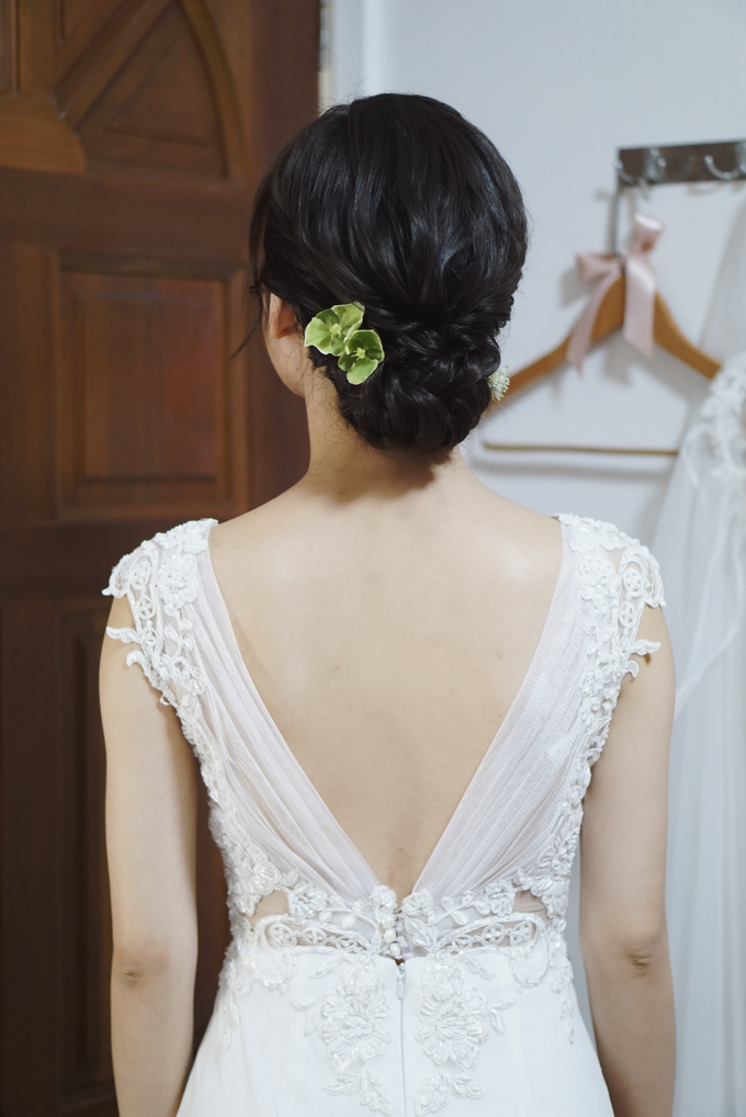 Bridal Makeup&Hair by Queenie Cong Makeover - 006