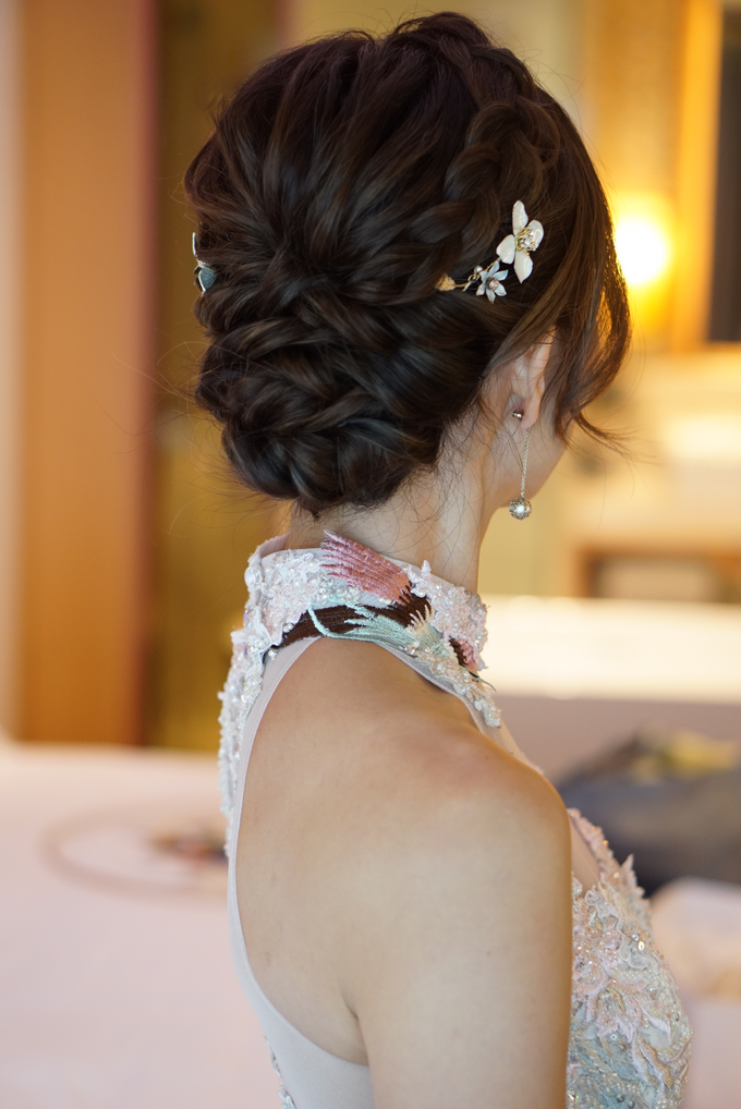 Bridal Makeup&Hair by Queenie Cong Makeover - 008