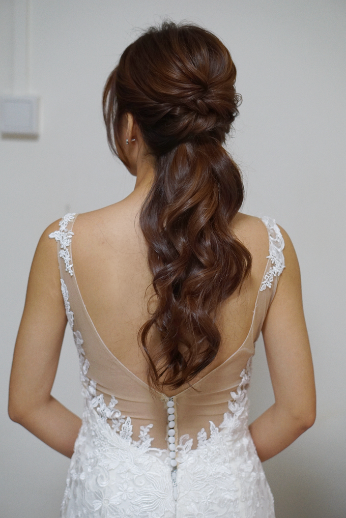 Bridal Makeup&Hair by Queenie Cong Makeover - 009