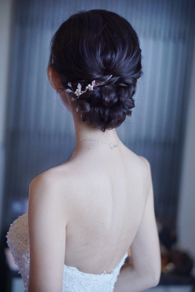 Bridal Makeup&Hair by Queenie Cong Makeover - 010