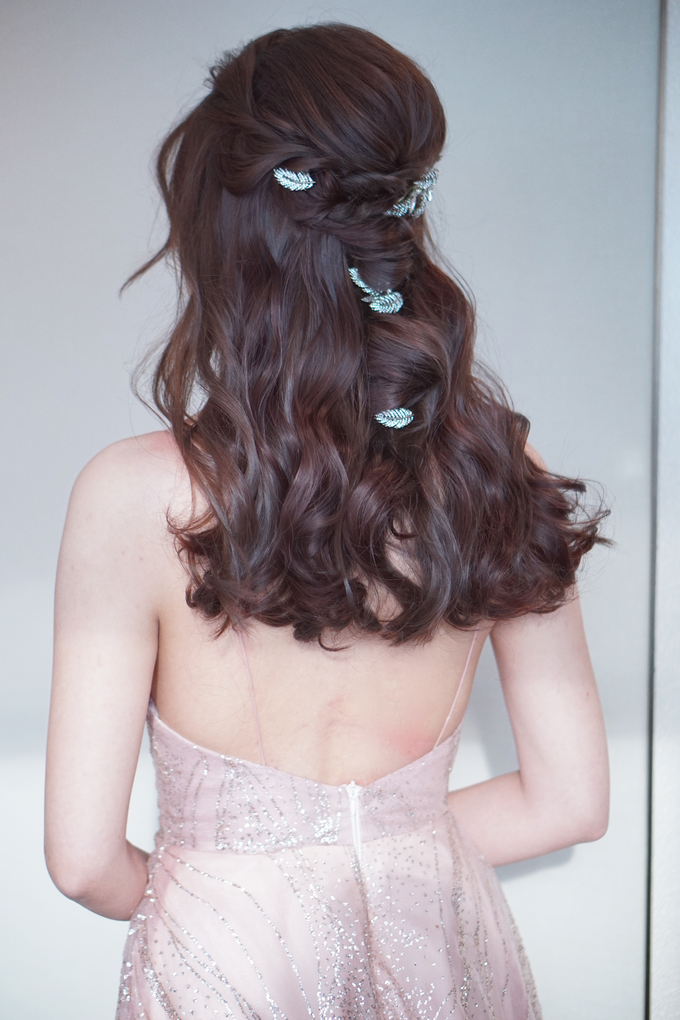 Bridal Makeup&Hair by Queenie Cong Makeover - 011