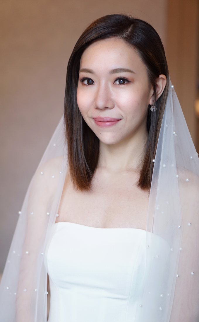 Bridal Makeup&Hair by Queenie Cong Makeover - 012