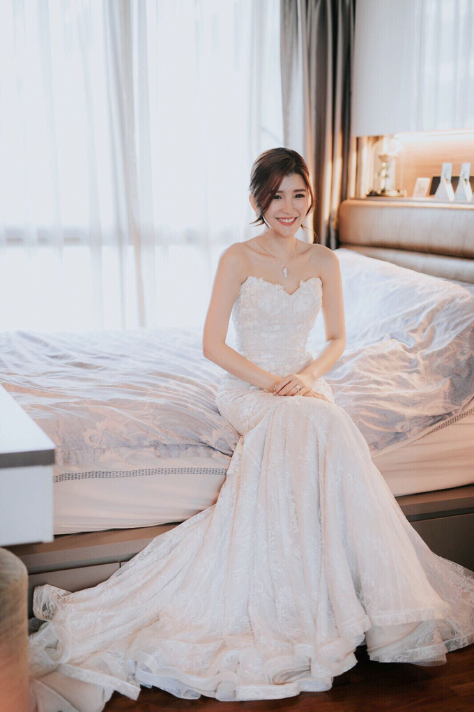 Bridal Makeup&Hair by Queenie Cong Makeover - 014