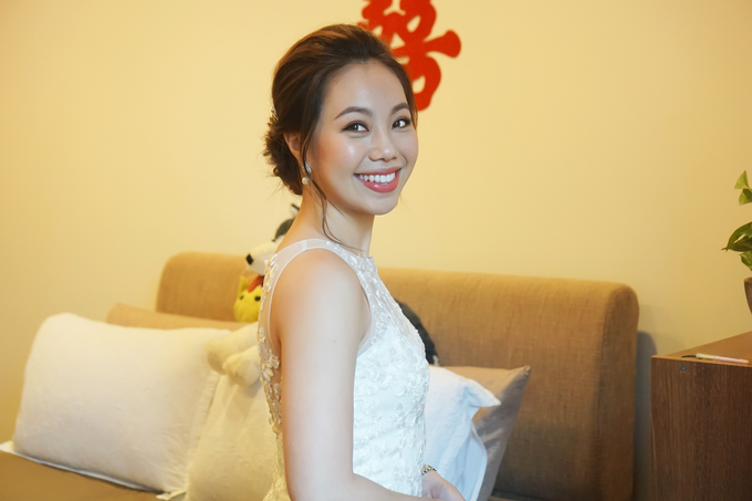 Bridal Makeup&Hair by Queenie Cong Makeover - 017