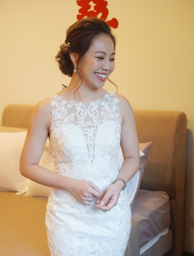 Bridal Makeup&Hair by Queenie Cong Makeover - 018