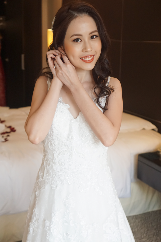 Bridal Makeup&Hair by Queenie Cong Makeover - 019