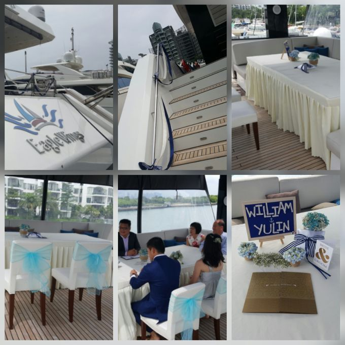 Wedding Solemnization by Eagle Wings Yacht Charters Pte Ltd - 001