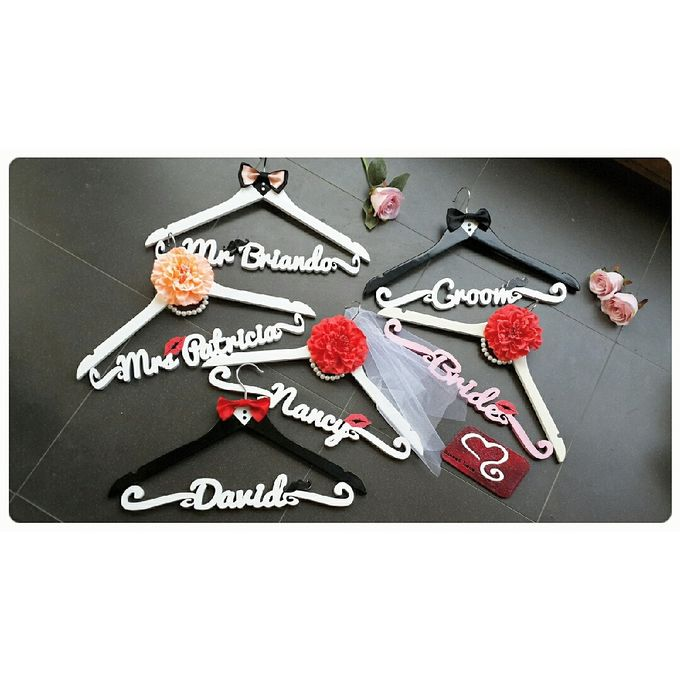 Wedding Hanger Name by Sweetlovecollection - 033