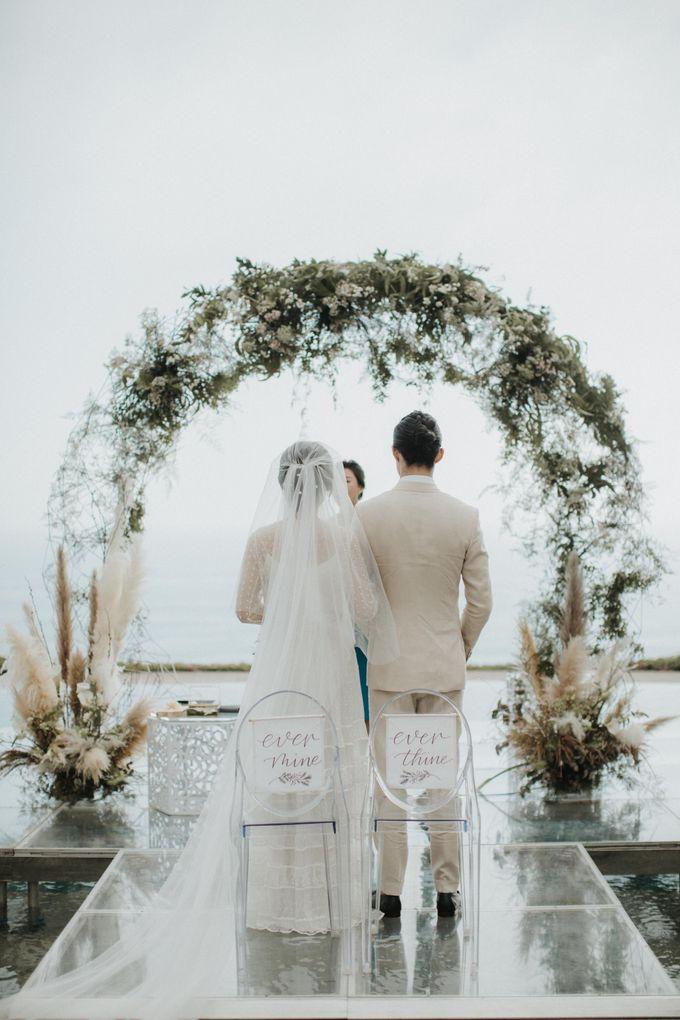 Chris & Calista Real Wedding at The Stone House by Tirtha by Tirtha Bali - 024