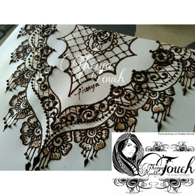 Henna Artwork Designing by Theiya Goddess Touch - 015