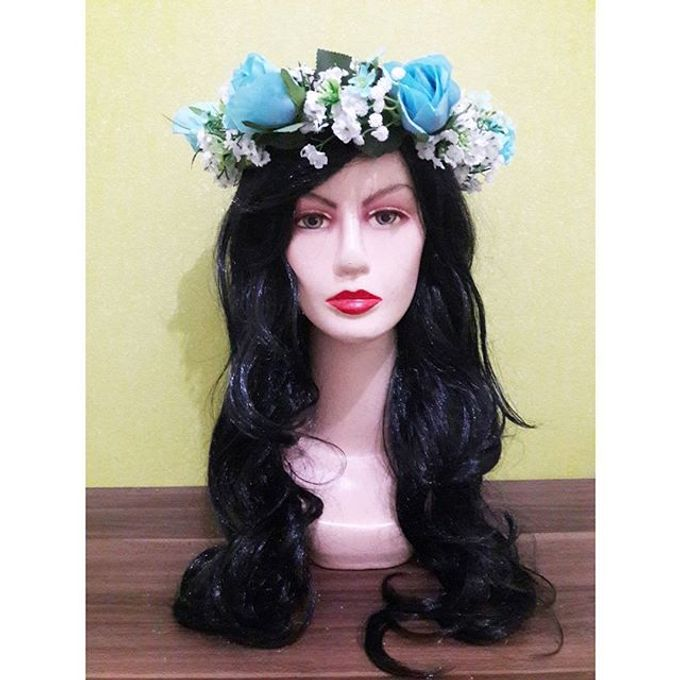 Flower Crown / Bando Bunga / Mahkota Bunga by Estrella Flower Crown - 023