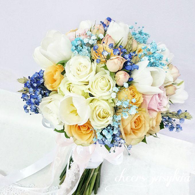 WEDDING BOUQUET  by visylviaflorist - 019