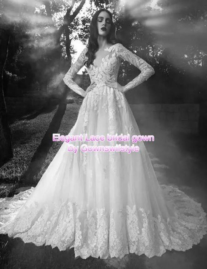 Beautiful Bridal Gowns by Makeupwifstyle - 018