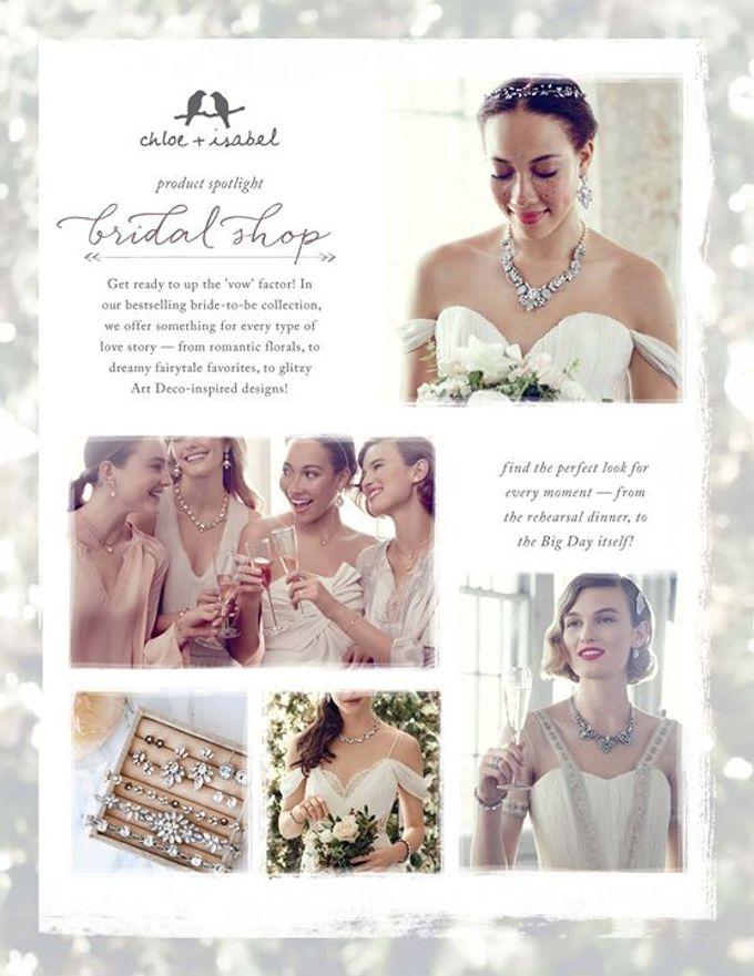 Bridal Jewelry Ideas by C+I Jewelry By Shannon Lenz - 003
