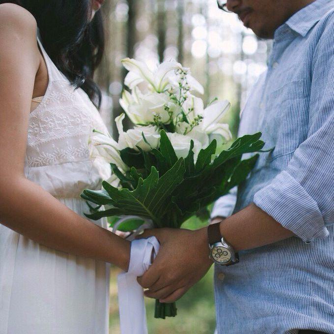 Pre-Wedding Reihan & Kisa by Benangsari Flower Studio - 004