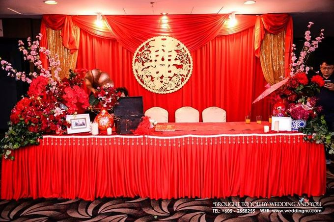 Oriental Wedding Decoration Theme by Wedding And You - 009