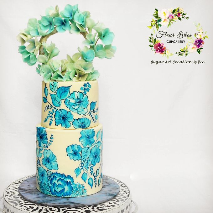 Engagements & Wedding Cakes by Fleur Bites Cupcakery - 037