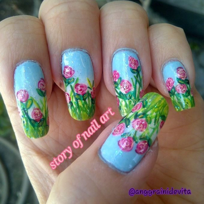 Painting Nails by Story of Nailart - 004