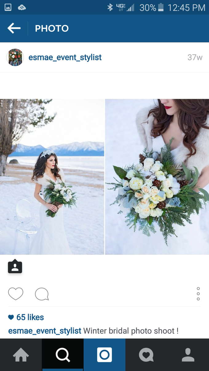 Winter Session by Esmae Event Floral Design - 001