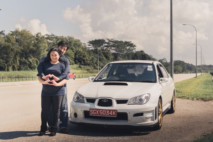 Couple Car Shoot by Shuttleflicks Photography - 008