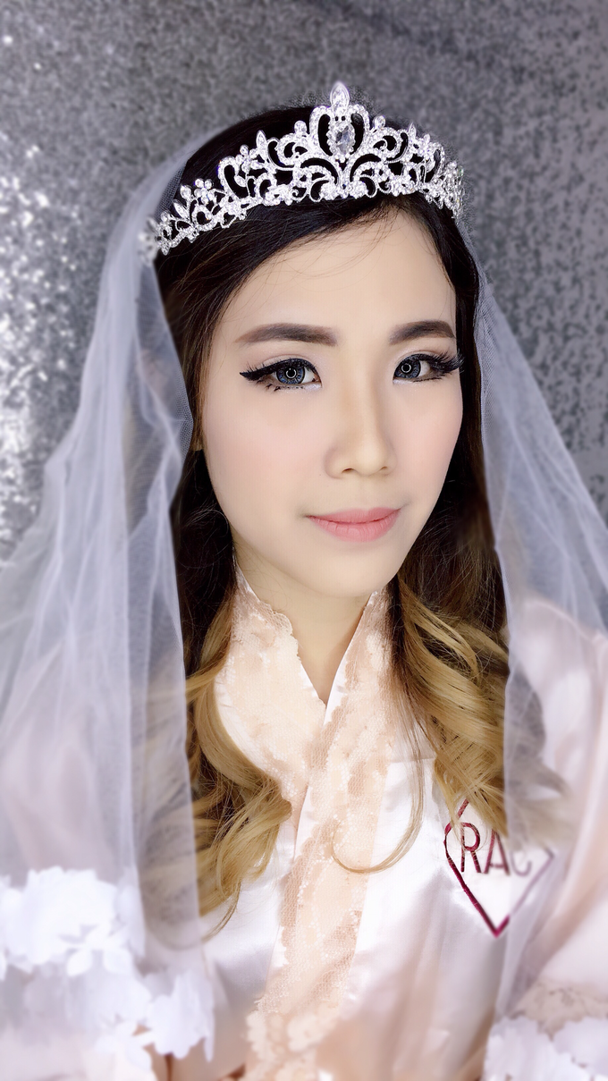 Wedding Makeup  by Rac.mua - 001