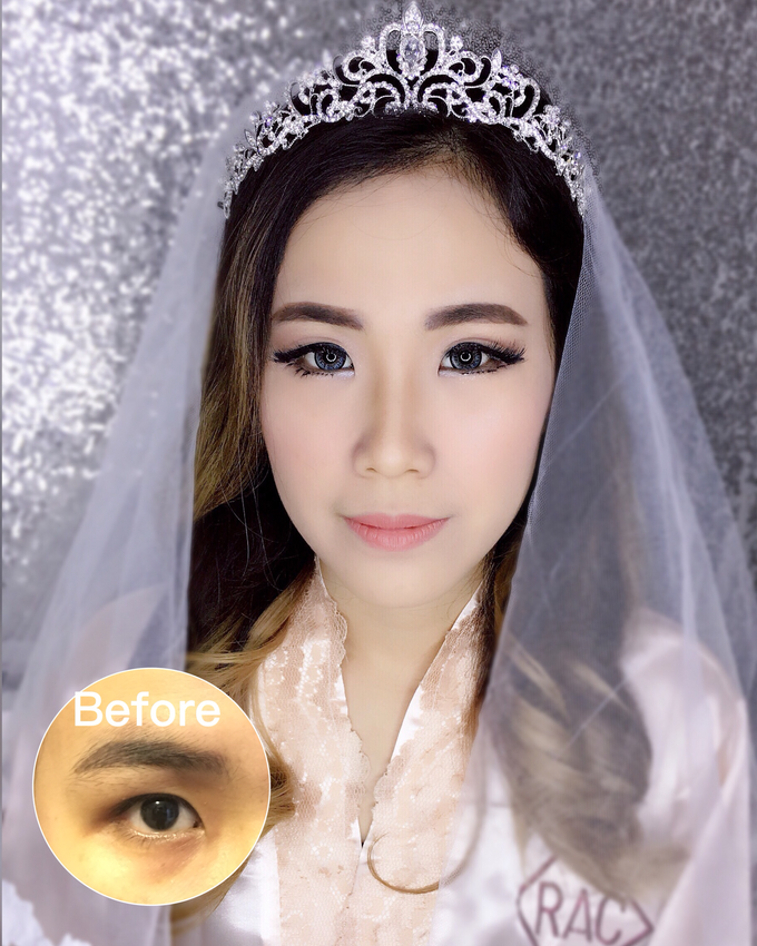 Wedding Makeup  by Rac.mua - 002