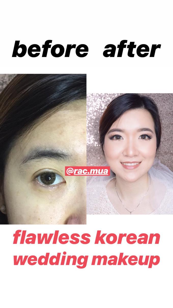 Flawless Korean Wedding Makeup by Rac.mua - 006