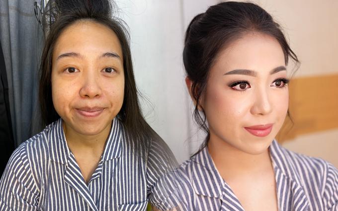Trial wedding makeup for Mrs. Audrey Martina by Rachel Liem Makeup - 001