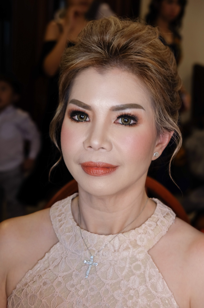 Morning and night makeup for Ms. Hanna  by Rachel Liem Makeup - 001