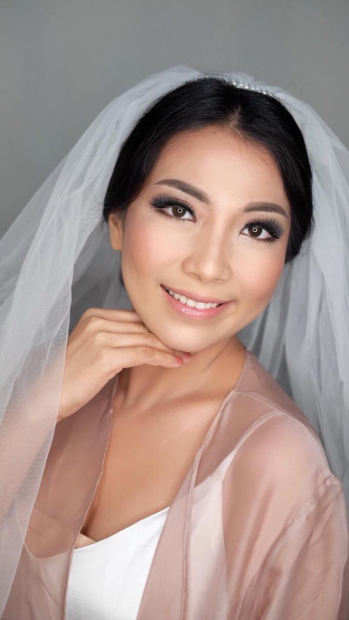 Wedding makeup for Mrs. Marisa by Rachel Make Up - 003