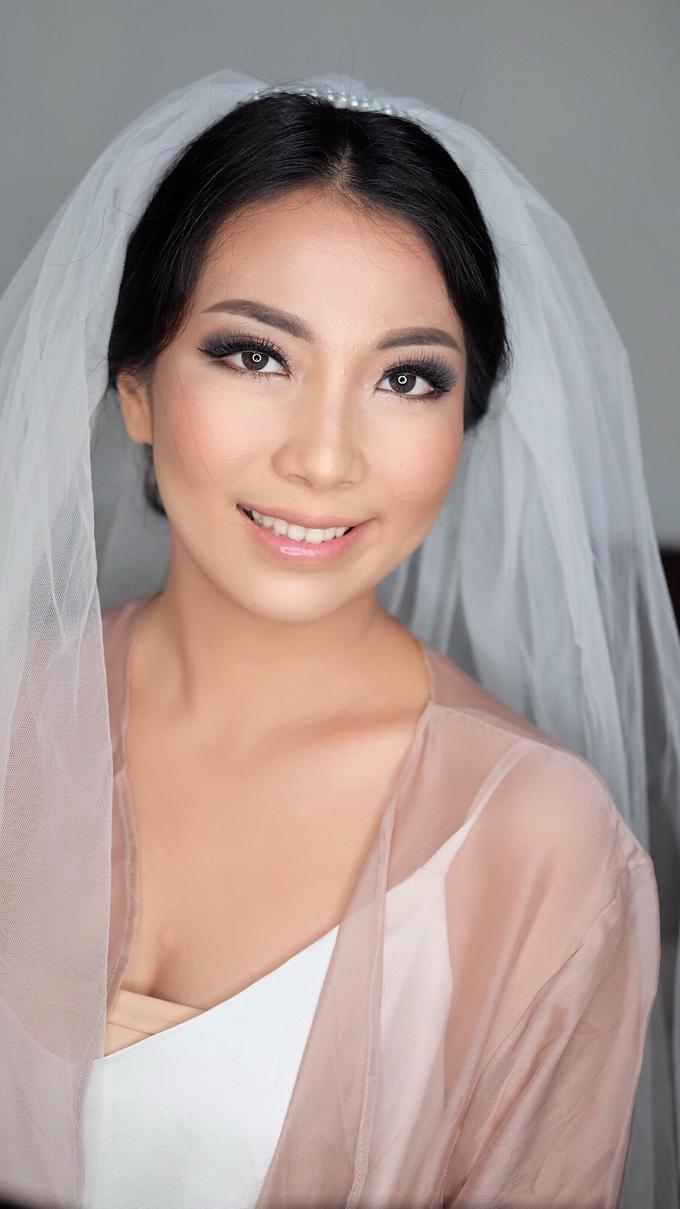 Wedding makeup for Mrs. Marisa by Rachel Make Up - 001