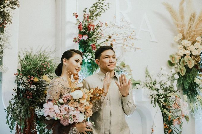 Rachel Theresia & Audy Pratama Engagement Day by Medina Catering - 009