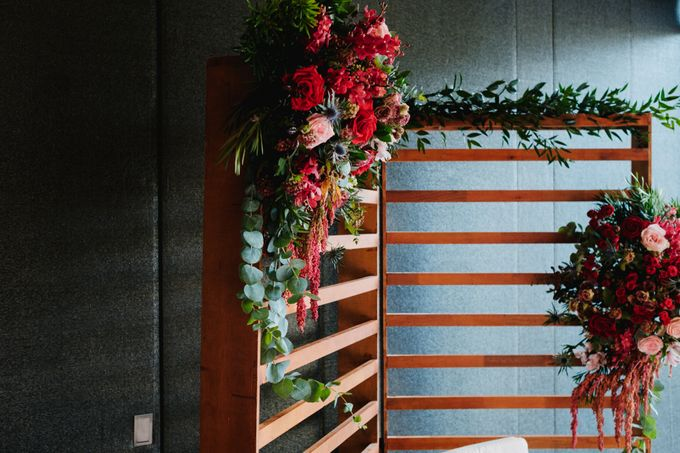 Rach + Shing (Rustic Red Wedding) by Mindy Tan, Weddings - 007