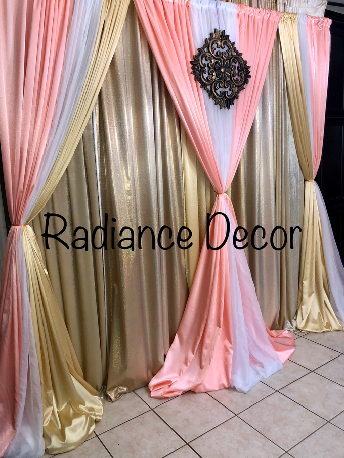Various backdrops and centrepieces created by us! by Radiance Decor - 009