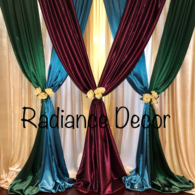 Various backdrops and centrepieces created by us! by Radiance Decor - 010