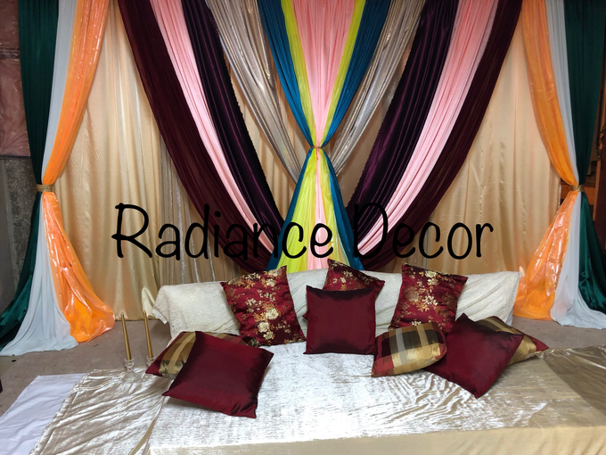 Various backdrops and centrepieces created by us! by Radiance Decor - 012